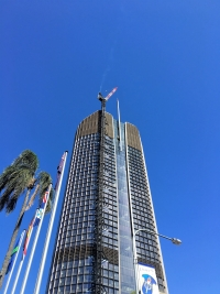 1 William Street, State Government Executive Building -                            Crown Roof and Spire